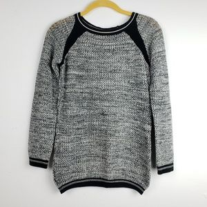 Katherine Barclay Black & White Pullover Sweater